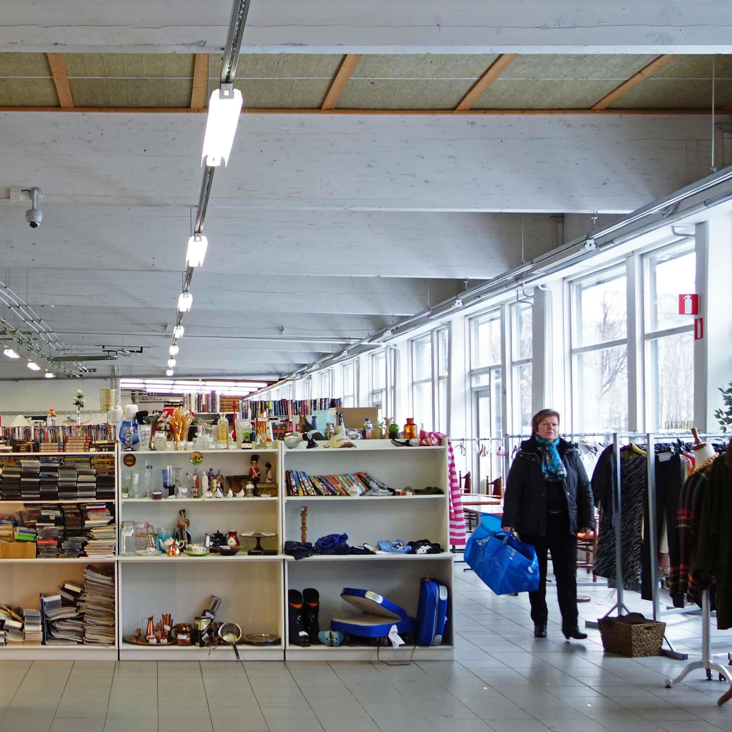 핀란드 중고가게